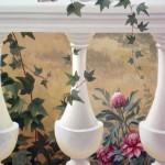 Wandmalerei im Vorraum, Privatwohnung, Kiew