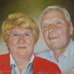 Ehepaar, 50x65, Pastell
