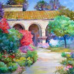 Garten, 30x40, Pastell