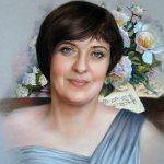 Olga, 40x50, Pastell