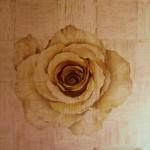 "Wandmalerei ""Rose"", Privatwohnung, Kiew"