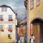 Weimar, 20x30, Pastell
